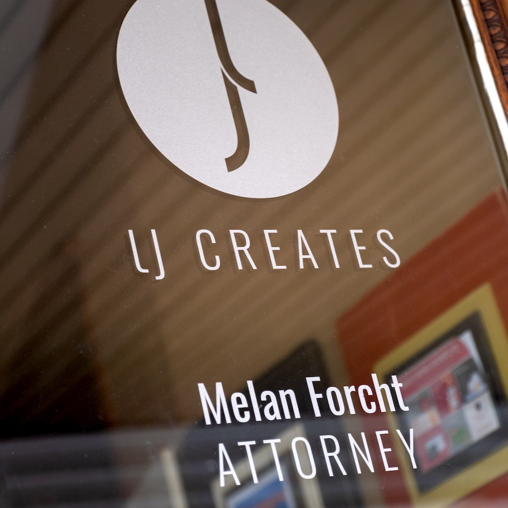 LJ Creates & Melan Forcht Door